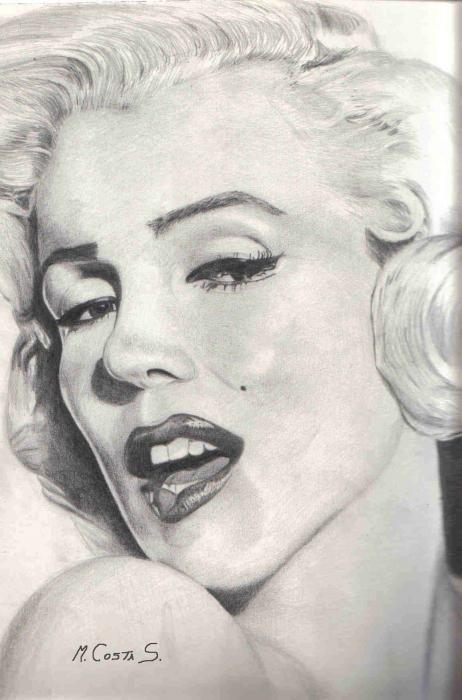 Marilyn Monroe by MarcoCostaS.